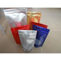 Cheap Custom Snack Bag Packaging , BOPP / LDPE Stand up Ziplock Mylar Food Bags for sale