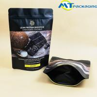 Buy cheap Reusable Chocolate Nut Packaging Bags Aluminum Foil Zip Seal Stand Up Pouches from wholesalers