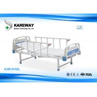 China Single Crank Manual Care Hospital Bed With Foot Base The Simple Model on sale