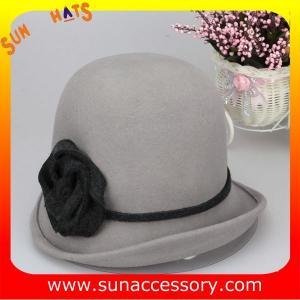 Best T2961232 Sun Accessory customized  winner  fashion 100% wool felt cloche hats, women hats and caps wholesaling wholesale