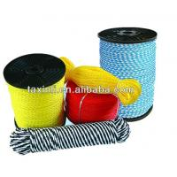 China Hollow braided,hollow nylon,silk braided cord rope,8 or 16mm strand, made in china on sale