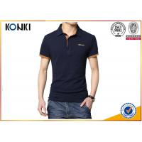 Best Men'S Fashion Custom Polo Shirt / Embroidery Polo Shirt Contrast Color Neck wholesale