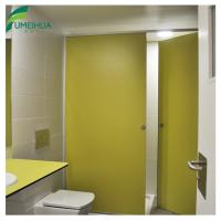 Best 2 years warranty glossy finish hpl toilet cubicle partition without top rail wholesale