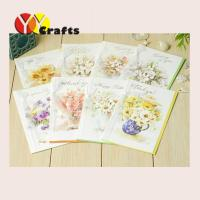 Best Colorful birthday party greeting card with flowers decorations wholesale