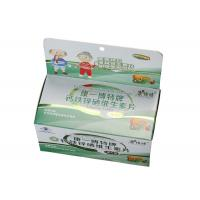 China 350gsm Paper Cardboard Custom Packaging Boxes Any Color With Emboss Logo on sale