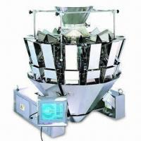 Cheap Multi-head Weigher with 1.5g Measured Error, Stable, Prevents from Crashing and Damaging for sale