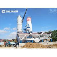 Best Fully Automatic Hzs50 Concrete Batching Plant , Skip Hopper Belt Type Concrete Batching Plant wholesale