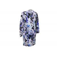 Best 65% Linen 35% Cotton Ladies Printed Dresses Soft Smooth Good Hand Feeling wholesale