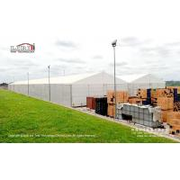 Buy cheap 20x150m Large Aluminum White Waterproof Temporary Warehouse Tents from wholesalers