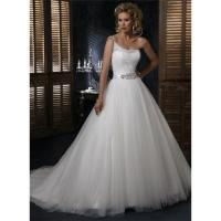 Best Ivory Tulle Wedding dress Beads wholesale
