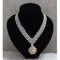Best Noble fashion natural freshwater pearl necklace wholesale