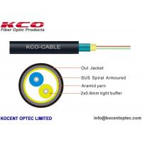 Buy cheap 2 Fiber 4 Core Armored Fiber Optic Cable FTTA 4.8mm Customized ISO9001 Approval from wholesalers