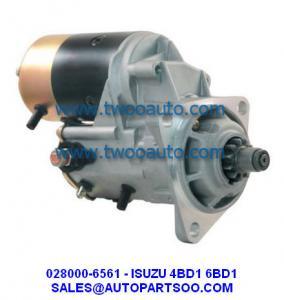 Best Starter Motor ISUZU NPR 4BC2 4BE1 4BD1 4BG1 12V 0280006560 028000-6560 128000-0491 wholesale
