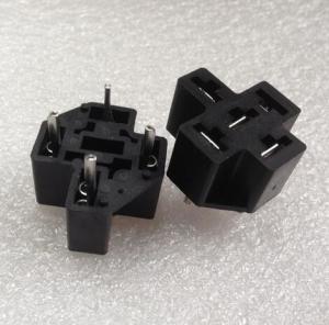China HFV4 pin type PCB automotive relay sockets on sale
