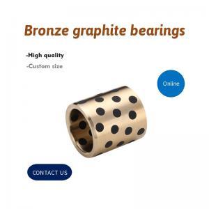 Best Plug Graphite Sleeve Guide Inch Sized Bushings , Bronze Graphite Bushings daido metal Standard wholesale
