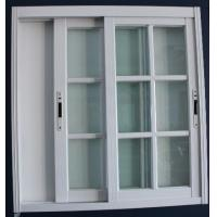 Buy cheap 1.4mm profile thickness white material fly screen aluminum sliding windows for from wholesalers