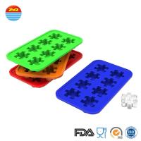 Best Custom Creative Funny Interesting Cute Design Puzzle Shape Ice Cube Maker Mould Silicone Ice Tray Mold wholesale