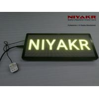 China High Brightness Taxi Led Advertising Sign Digital Display One Year Warranty on sale