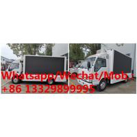 Best HOT SALE!  high quality and competitive price ISUZU P6 mobile LED advertising truck, ISUZU LED screen car for sale wholesale