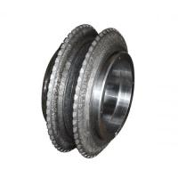 """Good Impact Resistance 18"""" Double Disc Cutter For Tunnel Boring Machine ISO 9001"""