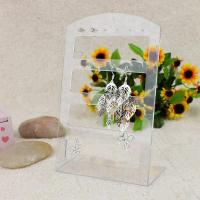 Best Plastic Acrylic Jewelry Earring Display Rack High Gloss Acrylic Jewelry Stand wholesale