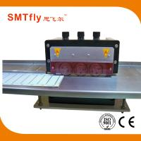 China Fully Automatic V-Cut Pcb Cutting Machine With Six Blades And Plastic Cover on sale