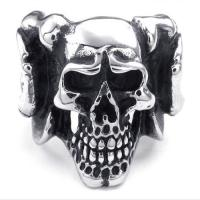 Best Tagor Jewelry Super Fashion 316L Stainless Steel Casting Rings Collection PXR036 wholesale