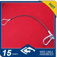 China steel wire rope with y-fit hooks on sale