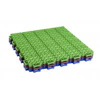 China Kids Playground Equipments Pp Interlocking Tiles For Outdoor Basketball Court on sale