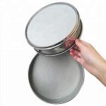 Best 100 150 200 400 600 Micron Wire Mesh Strainer , Stainless Steel Flour Sieve wholesale