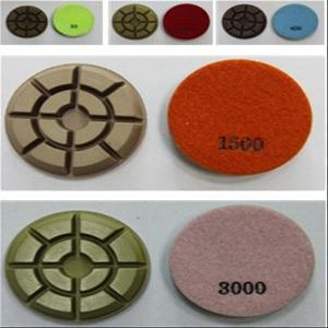 China Xy-Sh 3′ Resin Floor Grinder Polishing Pad on sale