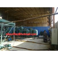 Best Automobile Car Oil Recycling System,Engine Oil Vacuum Distillation System and  Purifying Equipment wholesale