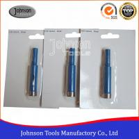 Best 14mm Diamond Core Drill Bits For Granite / Stone With 3 / 8 Shaft wholesale