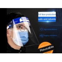 Best Recyclable Plastic Clear Full Face Shield With Sponge Prevention Public Protective adjustable Reusable anti virus wholesale
