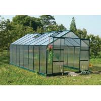 Best 8*8ft hot sale greenhouse with two door and windows wholesale