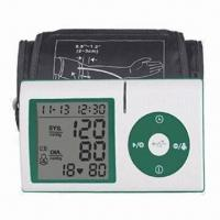 Best Arm Blood Pressure Monitor with PC Link Function and Digital Form LCD wholesale