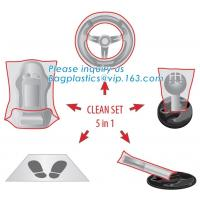 Car Seat Cover Protector Disposable Transparent Seat Protective Covers, Workshop