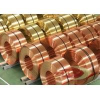 Buy cheap Thin Insulated Electrolytic Copper Foil Roll , Copper Sheet Metal from wholesalers