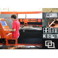Buy cheap 500W 1KW Sheet Metal Laser Cutting Machine , 380V metal cutting cnc machine product