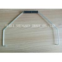 Best Low Carbon Steel Wire Bucket Handles 580mm The Wire Length With White Plastic Grip wholesale