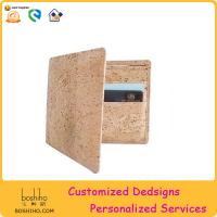 Best BOSHIHO 2015 cork wallet Bifold Wallet eco friendly wallet wholesale