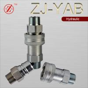 Best ZJ-YAB ISO Sereis A Interchange tractor machinery hydraulic quick coupler wholesale