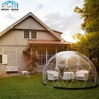 Best Giant Geodesic Dome Tent Camping PVC Fabric Aluminum Alloy Frame wholesale