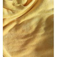 Best Microfiber 150cm width 550gsm Yellow Coral Fleece High Quality 150D/144F Cleaning Cloth wholesale