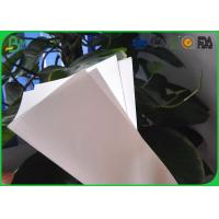 China 80gsm 90gsm High Gloss Art Paper , Matte Art Paper For Advertisement Printing on sale