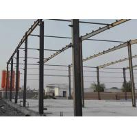 Cheap Prefabricated Industrial Building , Prefabricated Steel Frame For Shopping Mall for sale