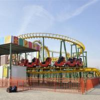 Buy cheap Funfair Rides Carnival Rides Amusement Park Equipment Crazy Mouse Roller Coaster from wholesalers