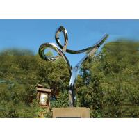 Best Professional Stainless Steel Outdoor Sculpture , Stainless Steel Art Sculptures wholesale
