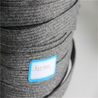 Best 40 Mm GRS Braided Webbing , Recycled Olifen PP Webbing For Indoor Furniture wholesale