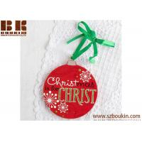 China Customized Christmas is for... Christmas Magnet Ornament Christmas tree Decoration on sale